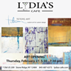 Jerry Teters Art Opening @ Lydia's Cafe
