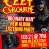 Ozzy Osbourne Listening Party and Vinyl Giveaway @ Darkside Records and Gallery
