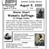 Women's Suffrage: In Otsego County @ Swart-Wilcox House Museum