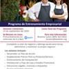 Programa de Entrenamiento Empresarial- Otoño 2020 @