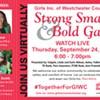 Girls Inc. of Westchester County Strong, Smart & Bold Virtual Gala @