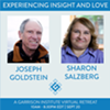 """Experiencing Insight and Love"" a Virtual Retreat with Sharon Salzberg & Joseph Goldstein @"