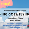 Virtual Art Class - Anything Goes: Flying Pigs - Cornell Creative Arts Center @