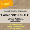 Owl Drawing with Chalk Pastels - Cornell Creative Arts Center - Virtual Class @