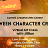 Halloween Character Creation - Cornell Creative Arts Center - Virtual Class @