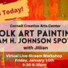 Virtual Art Class - Folk Art Painting: William H. Johnson Spotlight @