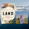 """Oblong Online: Simon Winchester, """"Land: How the Hunger for Ownership Shaped the Modern World"""" in conversation with Rebecca Thornton of Dutchess Land Conservancy Primary tabs @"""