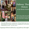 Virtual History Video Program: Pathway Through History; Historical Characters of the Hudson Valley @