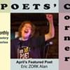 Poets' Corner at TCCC to present poet Eric ZORK Alan @