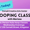 $65 - Hoop Making and Shaking 101 with Marissa @ Cornell Creative Arts Center