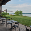 Hutton Brickyard's River Pavilion Offers Hudson Views & Simple Sophisticated Fare