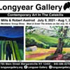 RK Mills & Robert Axelrod Solo Exhibitions plus Members' Group Show @ Longyear Gallery