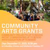 CREATE Grants Q&A Session @ Roeliff Jansen Community Library