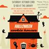 Spooky Cookie Houses @ Tivoli Free Library