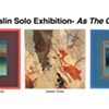 """Louise Kalin """"As The Crow Flies"""" Solo Exhibition plus Members' Group Show """"Through The Looking Glass"""" @ Longyear Gallery"""
