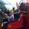 Touch a Truck for the Little Free Library