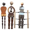 Simply Human: Sculptures by Terry Murray, PhD @ Foyer of the Mindy Ross Gallery, Kaplan Hall, SUNY Orange