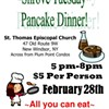Shrove Tuesday Pancake Dinner @ St. Thomas Episcopal Church
