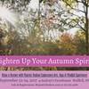 Lighten Up Your Autumn Spirit Retreat @ Audrey's Farmhouse