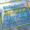Rhinebeck Summer Sidewalk Sale Celebration @ Rhinebeck Area Chamber of Commerce