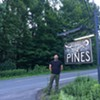The Pines proprietor Jeremy Bernstein, aka Burnell Pines.