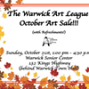 WAL's October Art Sale @ Senior Center at Warwick Town Hall