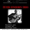 Peter Einhorn Trio @ Lydia's Cafe