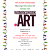 Art Is For Everyone: Small Works Holiday Sale @ womenswork.art