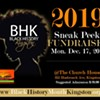 BHM Kingston 2019 Sneak Peek Fundraiser @ The Church House