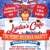 Perry Beekman Holiday Show @ Lydia's Cafe