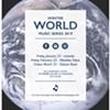 Winter World Music Series @ ARTBar Gallery