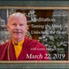 Meditation Taming the Mind Unlocking the Heart @ Karma Triyana Dharmachakra
