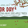 Angry Orchard Arbor Day Give Away @ Angry Orchard
