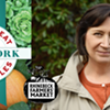 "Marie Iannotti - ""Grow Great Vegetables in New York"" @ Rhinebeck Farmers' Market"