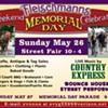 Fleischmanns Memorial Day Street Fair @ Downtown Fleischmanns