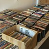 DVD & Record Sale @ Time and Space Limited