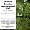 Invasive Species Identification and Management Walk @ Vassar Barns in the Vassar Farm and Ecological Preserve