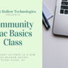Community Mac Basics Class @ High Meadow School