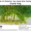 Crystal Yang: An Art Exhibition: Neo-Hudson River Painting @ The Poughkeepsie Trolley Barn