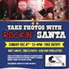Take a Photo with Rockin' Santa! @ Darkside Records and Gallery