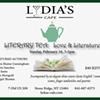 Literary Tea @ Lydia's Cafe