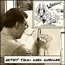 Karl Koeller, cartoohist & graphic artist - Uploaded by Barbara Todd