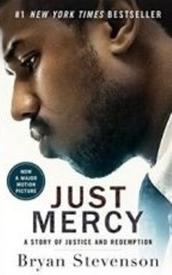 Cover of book, Just Mercy - Uploaded by Hudson Area Library