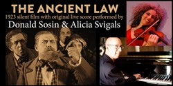 The Ancient Law with Alicia Svigals and Donald Sosin - Uploaded by max_ashokancenter