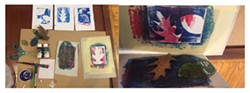 Nature Prints with Catherine Graham - Uploaded by RoCA