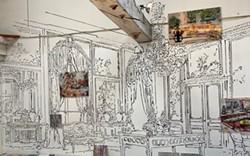 """Installation """"Transit Portal"""" , Mary Ann Strandell - Uploaded by artport kingston"""
