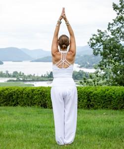Ascend Yoga at Boscobel - Uploaded by Boscobel