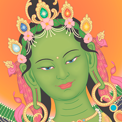 Green Tara - Uploaded by Education Coordinator