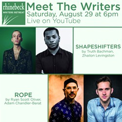 Meet 4 writers live on Youtube Saturday at 6pm EST - Uploaded by KPE