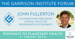 John Fullerton: Regenerative Economics - Uploaded by KSweeney
